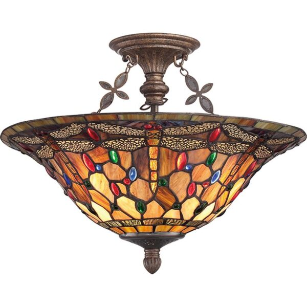 ELSTEAD LIGHTING Jewelled Dragonfly QZ/JDRAGONFLY/SF 5024005270812