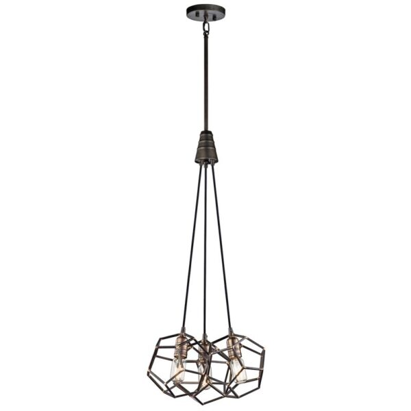 ELSTEAD LIGHTING Rocklyn KL/ROCKLYN3 RS 5024005299813