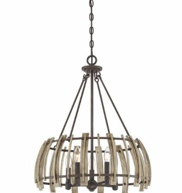 ELSTEAD LIGHTING Wood Hollow QZ/WOODHOLLOW/5P 5024005346616