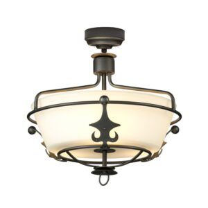 ELSTEAD LIGHTING Windsor Graphite WINDSOR/SF GR 5024005347910
