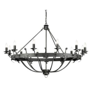 ELSTEAD LIGHTING Windsor Graphite WINDSOR12 GR 5024005348313