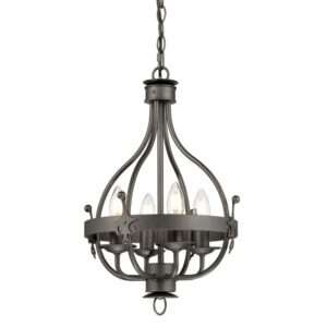 ELSTEAD LIGHTING Windsor Graphite WINDSOR4 GR 5024005348412