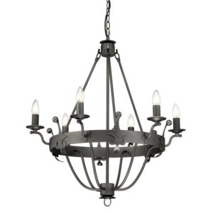 ELSTEAD LIGHTING Windsor Graphite WINDSOR6 GR 5024005348511